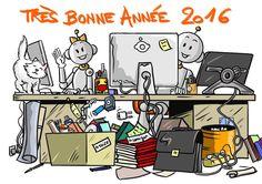 """Les """"Bout de gomme"""" vous souhaitent une très bonne année 2016 !"""
