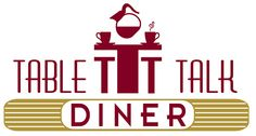 Table Talk Diner Logo. Design by Drake Creative in Millbrook, NY.