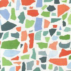Fabric - Colors Ld Apple Martini Geometric  Fabric Pattern