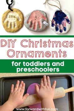 Preschool Arts And Crafts, Preschool Gifts, Diy Crafts For Kids, Sensory Activities, Christmas Activities, Toddler Activities, Diy Christmas Ornaments For Toddlers, Christmas Diy, February Month