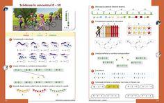Matematică şi explorarea mediului - Manual pentru clasa I - semestrul I