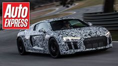 New Audi R8 2015 - hot lap in the passenger seat of new supercar