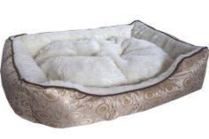Large Cleopatra Gold Dog Bed Dog Beds For Small Dogs, Large Dogs, Medium Dogs, Cleopatra, Gold, Big Dogs, Medium Size Dogs, Medium Sized Dogs