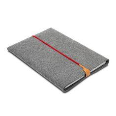 15'' Macbook Tablet caso manga de fieltro de lana caja