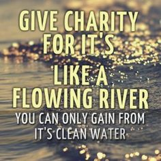 Charity  #charity #giving #inspiration #quotes #inspirationalquotes #cleanwater #rockofeden #rockofeden.com