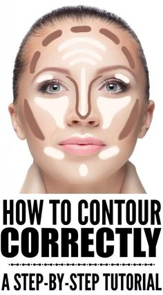 If you want to know how to contour your face correctly, but don't know what products to use, what makeup brushes work best, and what makeup application techniques will give you the most definition for (Contour Makeup Step) Contouring For Beginners, Makeup For Beginners, How To Contour For Beginners, Beginner Makeup, How To Contour Your Face, How To Apply Makeup, Contour For Round Face, Fall Makeup Looks, Winter Makeup