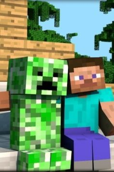 What is this sorcery...ah i see. The creeper only wanted a friend.