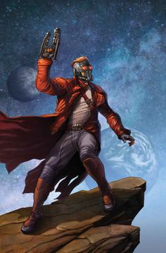 The Legendary Star-Lord #1 by STEVE MCNIVEN