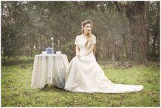 Vintage bridal portrait inspiration   © Degrees North Images   Brazos Bend State Park, Needville, Texas, victorian, Houston wedding photographer