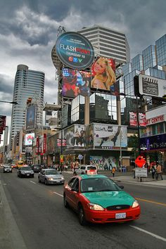 Yonge Street, just north of the Eaton Centre, Toronto Toronto Ontario Canada, Toronto City, Toronto Travel, Downtown Toronto, Ottawa, Montreal, Vancouver, Alaska, Yonge Street