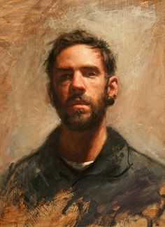 great contemporary portrait painting by Coulter Prehm
