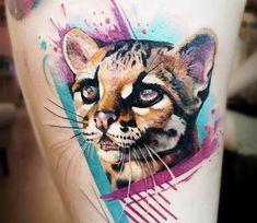 Little Tiger tattoo by Adrian Ciercoles
