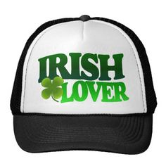 Irish Lover Hat St Patricks Day