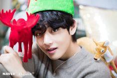BTS V Christmas photoshoot by Naver x Dispatch Bts Taehyung, Namjoon, Jimin, Bts Bangtan Boy, Seokjin, Hoseok, Taehyung Fanart, Daegu, Merry Christmas