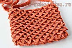 Crocodile-skin crochet pattern and ideas (video tutorial)