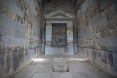 Garni temple | Armenia | Asia Altar and place for sacrifices in the inside of the temple of Garni