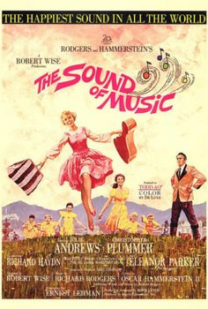 It was adapted as a 1965 film musical starring Julie Andrews and Christopher Plummer, which won five Academy Awards. The Sound of Music was the final musical written by Rodgers and Hammerstein. Christopher Plummer was dreamy. Sound Of Music Movie, Love Movie, I Movie, Old Movies, Vintage Movies, Great Movies, Vintage Movie Posters, Film Musical, Music Film