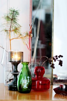 Oravanpesä | KF245-maljakko design  Kaj Franck ja Marimekko Flower-maljakko design Carina Seth-Andersson