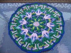 Crochet Mandala by Momwithahook