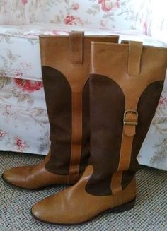 Kup mój przedmiot na #vintedpl http://www.vinted.pl/damskie-obuwie/kozaki/13737004-oficerki-skorzane-zara