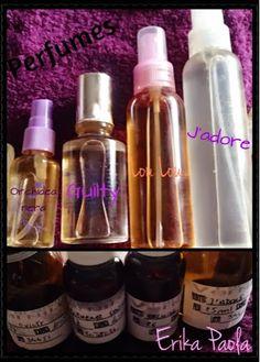 Perfume hecho en casa.