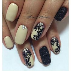 Going to try this nail design, going to a wedding, will match what I'm wearing.