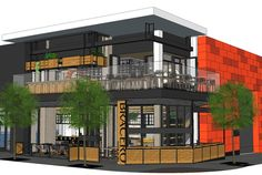 top 22 restaurants opening in SD 2015:   An architectural rendering of Bracero: Cucina Mexicana de Raiz, opening in March in Little Italy. The crown prince of Baja cuisine, chef Javier Plascencia (Romesco, Misión 19) is behind this 4,800-square-foot downtown restaurant/bar serving modern Mexican food and spirits and Baja wines with casual service on the ground floor and fine dining upstairs. 1490 Kettner Blvd., Little Italy.