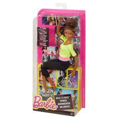 """Кукла Барби - Фитнесс Безграничные Движения Желтый Топ - купить в """"Империи Кукол"""""""