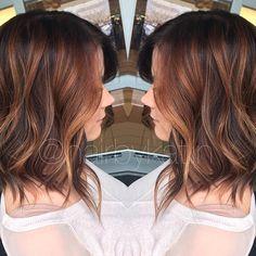 Gorgeous balayge hair