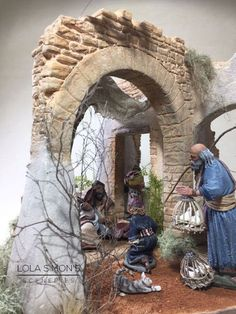1 million+ Stunning Free Images to Use Anywhere Christmas Cave, Christmas Manger, Christmas Nativity Scene, A Christmas Story, Church Christmas Decorations, Fontanini Nativity, Medieval Houses, Free To Use Images, Miniature Crafts