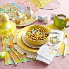 Easter Place Settings: Whimsy