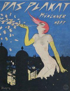 Walter Schnackenberg (1881- 1961), Das Plakat.