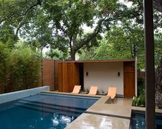 :: gorgeous pool for limited yard space :: // 7125 Wildgrove   W2 Studio