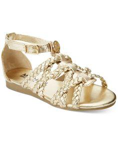 51f7fdf81e4 Michael Kors Little Girls  or Toddler Girls  Demi Lacey Sandals Kids -  Kids  Shoes - Macy s