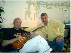 Mark & Rudy in Italy, 2005