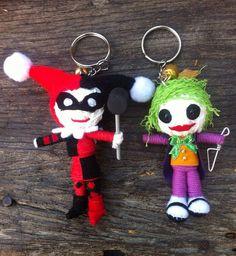 Hey, I found this really awesome Etsy listing at https://www.etsy.com/listing/175649688/joker-harley-quinn-voodoo-doll-handmade
