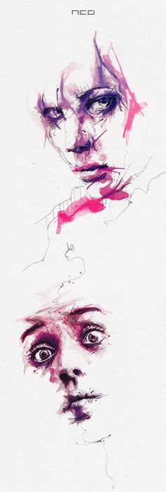 Florian Nicolle- Acacia ♥ #Art #Illustration #Design