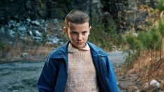 "What ""Eleven"" from ""Stranger Things"" looks like with her naturally beautiful…"