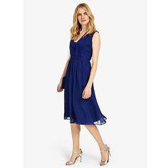 Buy Phase Eight Tianna Dress, Cobalt Online at johnlewis.com