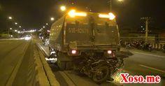 Xe máy tông xe quét đường, 2 thanh niên tử vong trong đêm