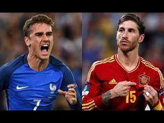 Amistoso España vs Francias online & gratuito martes 28/03/2017