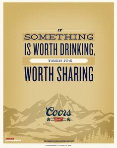 Coors Banquet - Western Wisdom by Jordan Gray, via Behance
