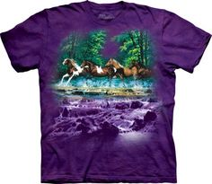 Spring Creek (Wild Horses) T-Shirt For $20