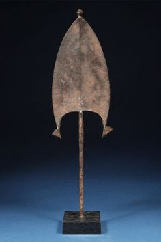 M'bili Currancy  Ngbaka People.  Stanley Fall Region, Democratic Republic of Congo.  Iron.  Late 19th C.