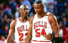 Michael Jordan punched Will Perdue in the face during practice once, according to Horace Grant.