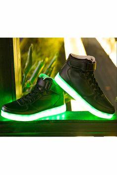 http://www.homekitchennyc.com/category/Led-Lights/ Fashion Black High Top Unisex Light LED Shoes  http://www.justleds.co.za