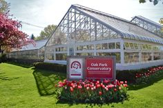 Conservatory   http://www.pdop.org/parks-facilities/oak-park-conservatory/