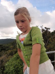 Free cardy pattern option for long sleeves 2yrs to 10 yrs