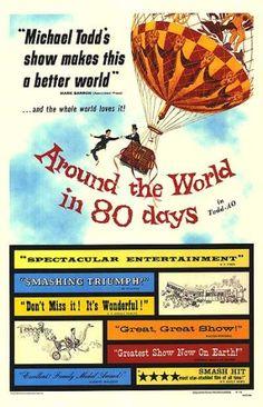 Around the World in Eighty Days » 1956 { Movie Poster Addict }