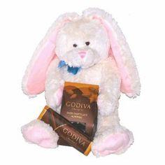 White Easter Godiva Chocolates Holiday